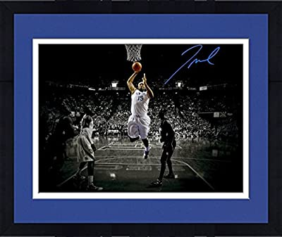 "Framed DeMarcus Cousins Kentucky Wildcats Autographed 11"" x 14"" Dunking Spotlight Photograph - Fanatics Authentic Certified"