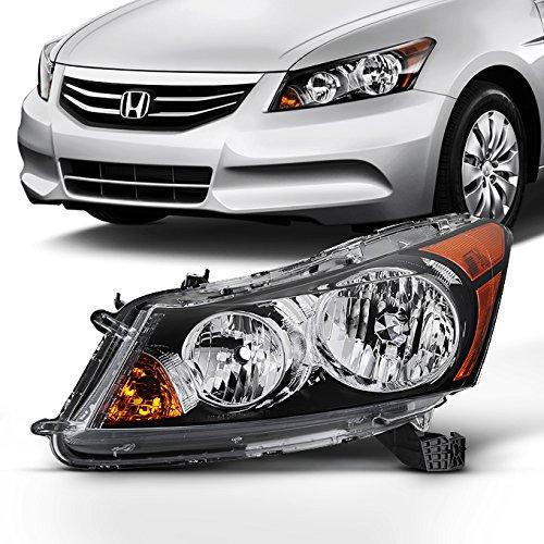 For 2008 2009 2010 2011 2012 4-Door Sedan Honda Accord Left Driver Side Headlight Headlamp Assembly