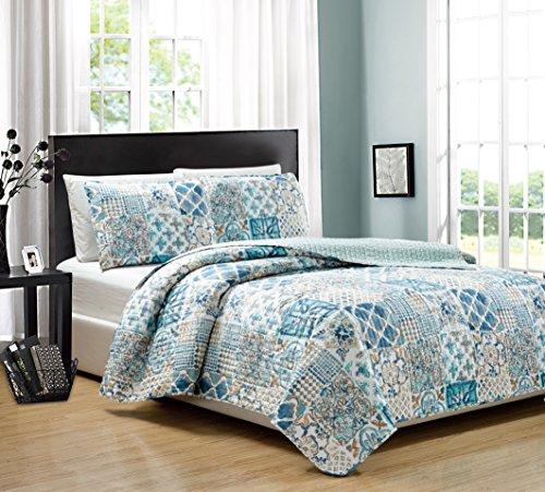 Price comparison product image RT Designers Collection Nolita 3 Piece Reversible Quilt Set, King