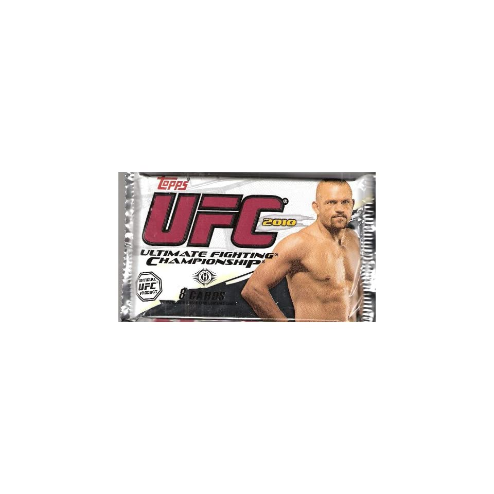 2010 Topps UFC Trading Cards Hobby 1 Pack