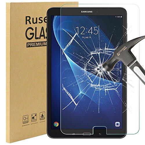 Galaxy Tab A 10.1 Panzerglas, Rusee Gehärtetem Glas Schutzfolie Folie Panzerfolie Displayfolie for Samsung Galaxy Tab A 10.1 T580N/T585N Klar Anti-Kratz 9H Härte