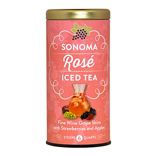 Bottled Red Wine (The Republic Of Tea Sonoma Rose Iced Tea, 6 Large Iced Tea Pouches, Strawberry And Apple Infusion)