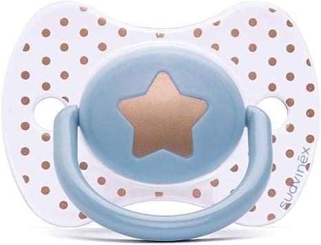 Clip redondo de estrella azul claro Suavinex Premium 30 g