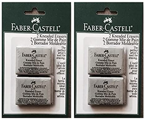 Faber Castell Large Kneaded Eraser 2 Pack Faber-Castell FBA_FC587533