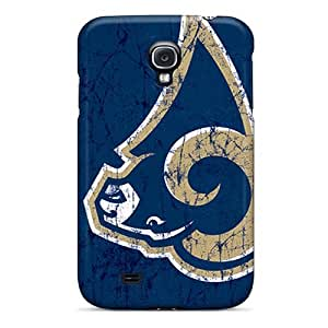 Premium Durable St. Louis Rams Fashion Tpu Galaxy S4 Protective Case Cover