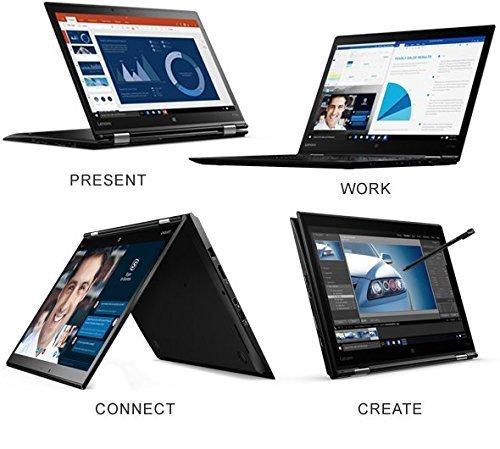 Lenovo ThinkPad X1Yoga 20FQ 14' Flip Design 2-in-1 Ultrabook, i7-6500U, 8GB RAM, 256GB SSD, 14' FHD (1920x1080) IPS Anti-glare, Back-lit, Windows 10 Pro (20FQ001VUS)