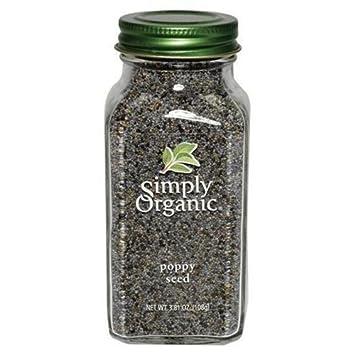 Amazon.com: Simply Organic Btl Amapola Semillas Org: Beauty