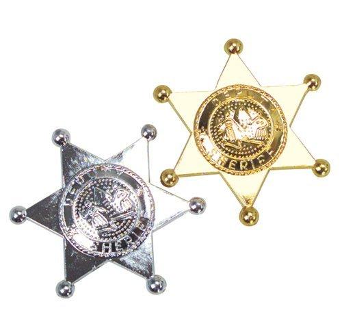 Plastic Sheriff Badges Rhode Island Novelty SL-SHER3