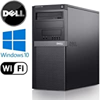 Dell Optiplex 960 Tower - Intel Core 2 Duo 2.93GHz, 8GB RAM DDR2, NEW 1TB HDD, Windows 10 Professional 64-Bit, WiFi, DVD-ROM (Prepared by ReCircuit)
