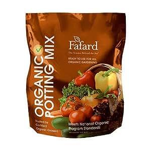 Conrad Fafard 4000803 Organic Potting Mix, 8-Quart