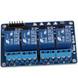 COLEMETER MODUDO RELE' 4 CANALI 5V PER ARDUINO 8051 PIC ARM AVR DSP [Elettronica]