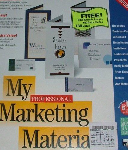 My Professional Marketing Materials