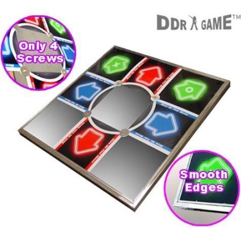 Dance Dance Revolution DDR Metal PS / PS2 Dance Pad V 3.0