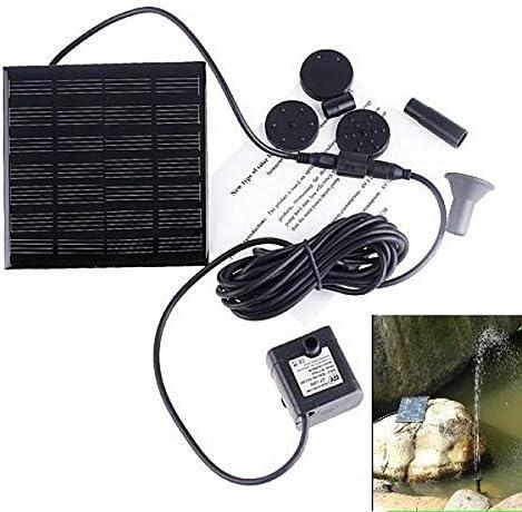 RONSHIN 7V Energy-Saving Solar Powered Fountain Pump Submersible Solar Water Pumps For Garden Pond