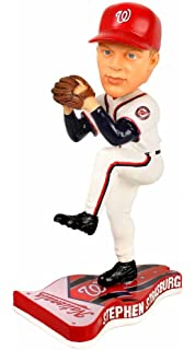 STEPHEN STRASBURG Pennant Base Bobblehead Home Washington Nationals
