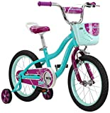 Schwinn Elm Girl's Bike, Featuring SmartStart Frame to Fit Your Child's Proportions, 12inches Wheels, Teal