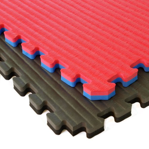 Greatmats Home MMA BJJ Mats 2x2 Ft x 1 5 Inch 10 Pack (Red