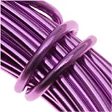 Aluminum Craft Wire 12 Gauge 39 Feet PURPLE