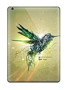 Excellent Design Green Bird Flight Phone Case For Ipad Air Premium Tpu Case
