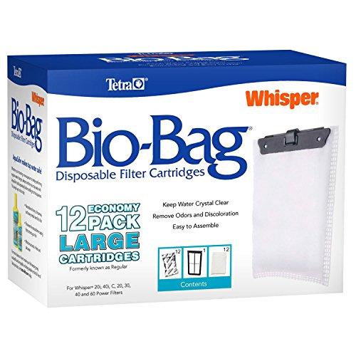 (Tetra Whisper Bio-Bag Replacement Cartridge Unassembled Large 12pk)