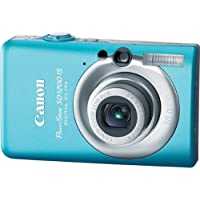 Canon PowerShot SD1200IS 10 MP Digital Camera with 3x Optical Image Stabilized Zoom and 2.5-inch LCD (Blue) At A Glance Review Image