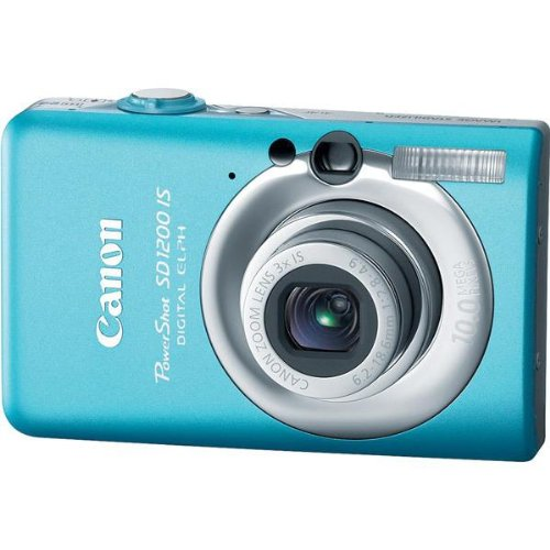 Canon PowerShot SD1200IS 10 MP Digital Camera with 3x Optica