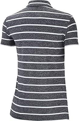 Nike Womens Dri-FIT Striped Golf Polo, Dri-FIT Polo Shirts for ...