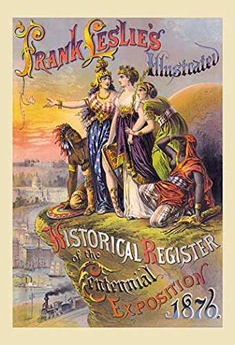 Frank Leslie's Illustrated Historical Register of the Centennial Exposition 1876 Fine Art Canvas Print (20