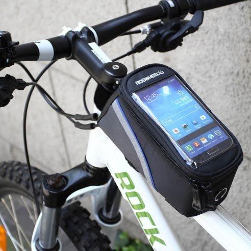 Fahrrad Rahmentasche Tasche Handy Oberrohrtasche Halterung Fahrradtasche Rahmen Fahrradschnalletasche