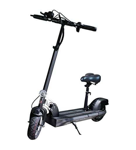 SABWAY Patinete Electrico 500W para Adultos con Asiento - Vehiculo Scooter Plegable Bateria Litio 48V