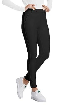 b65c0a5bad6099 Balleay Art Women's Work Slacks Pull-On Yoga Dress Pants 4 Way Stretch  Workout Running Ankle Length Slim Leggings