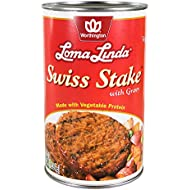 Loma Linda - Plant-Based - Swiss Stake with Gravy (47 oz.) - Kosher