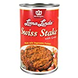 Loma Linda - Vegetarian - Swiss Stake with Gravy (47 oz.) - Kosher