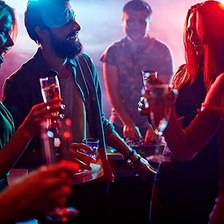 30 Piezas Tazas de Luz Vaso de Bebida de Luz LED Taza de Bebida de Fiesta de Club Noche Bar Multicolor para Cumpleaños Boda Deportes Eventos Festivales Bar Interior
