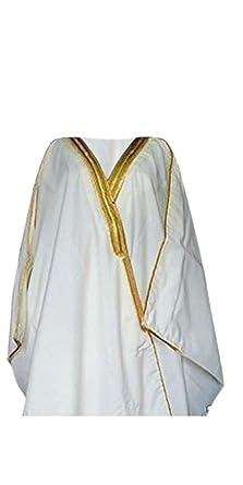 Amazon.com  Desert Dress Bnwt White Arab Coat Cloak Robe Party Dress Sheik  Bisht  Clothing e1f251cea