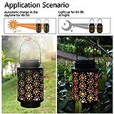 Hanging Solar Lanterns Outdoor Solar Lights Retro
