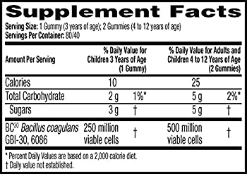 Digestive Advantage Kids Daily Probiotic Gummies, 80 Count 9