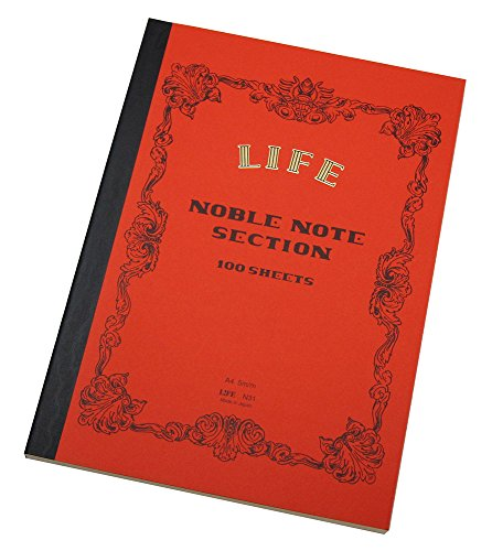 LIFE Noble Notes A4 5mm Squares Ruled Line N31 (Life Notebook)