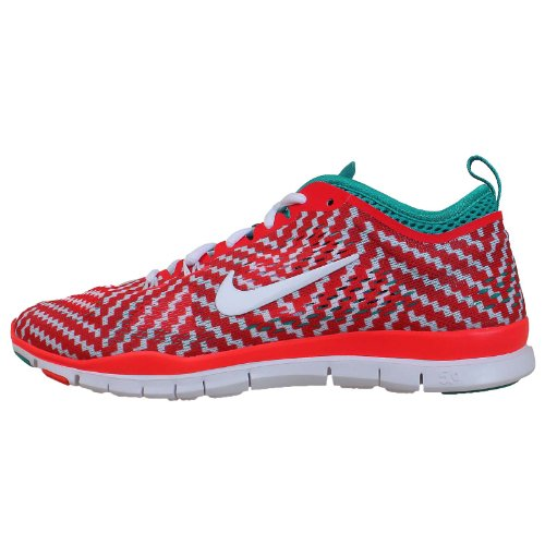 Nike Wmn Nike Free 5.0 Tr Fit 4 Prt - Zapatillas para mujer Red
