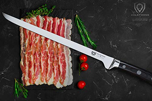 DALSTRONG Gladiator Series 12'' Spanish Style Meat & Ham Slicer by Dalstrong (Image #2)