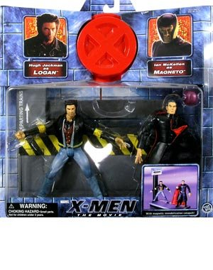 (X-Men: the Movie Series 1 > Logan vs. Magneto Action Figure 2-Pack)