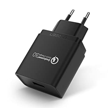 ugreen Cargador USB Quick Charge 3.0 18 W Funda Cargador ...
