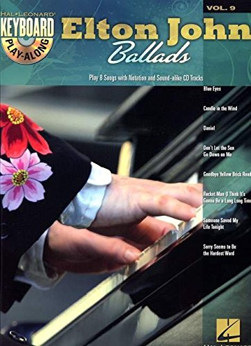Keyboard Play Along Series - Elton John Ballads: Keyboard Play-Along Volume 9 (Hal Leonard Keyboard Play-Along)