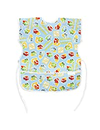 Bumkins Waterproof Short Sleeved Art Smock, Construction