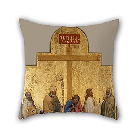 Beautifulseason The Oil Painting Giottino - Pietà Di San Remigio Cushion Cases Of ,16 X 16 Inches / 40 By 40 Cm Decoration,gift For Kitchen,monther,family,pub,dance Room,husband (twin (Chiefs And Royals Pennant Shirt)