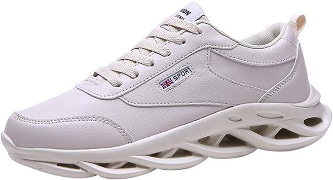 ღLILICATღ Zapatillas Running Hombre Zapatillas Deportivas Hombre De Cordones En Gimnasio Aire Libre Y Deporte Transpirables Casual Zapatos Gimnasio Correr Sneakers: Amazon.es: Deportes y aire libre