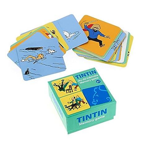 Juego de cartas de memoria Las Parejas Tintín V1 51069 (2016 ...