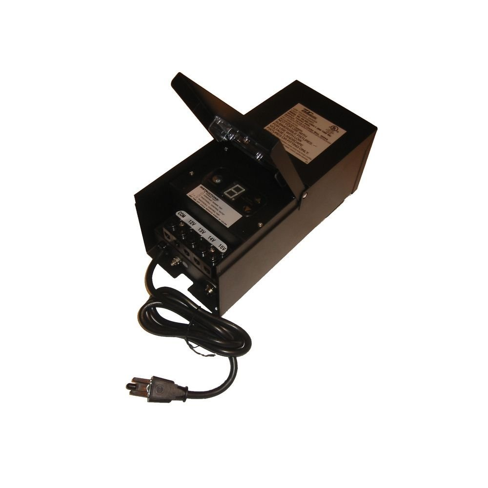 300W TRANSFORMER W/ BUILT-IN TIMER & PHOTOCELL