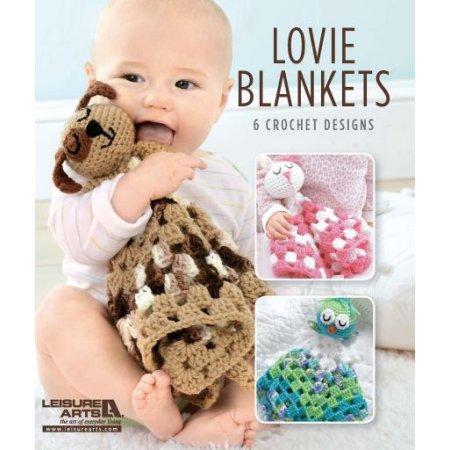 Leisure Arts, Lovie Blankets- 6 Crochet Designs by LEISURE ARTS