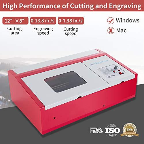 SUNCOO K40 Laser Cutter 12x8 in Desktop DIY 40W CO2 Laser
